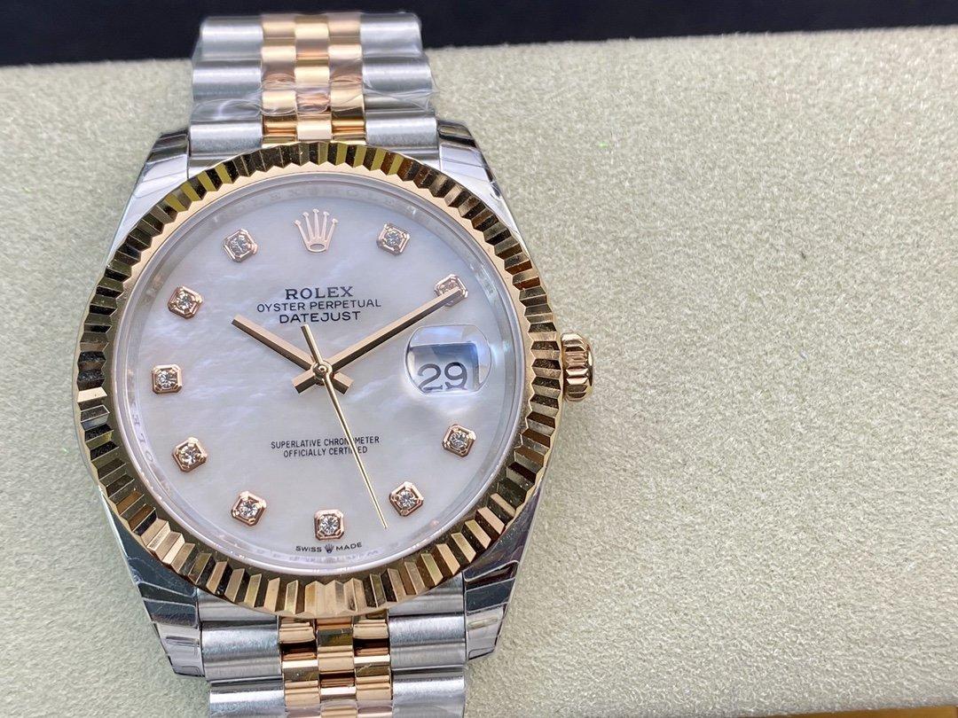 EW廠V3升級版 勞力士Rolex 3235機芯日誌型係列126331男士日誌型直徑41毫米高仿手錶