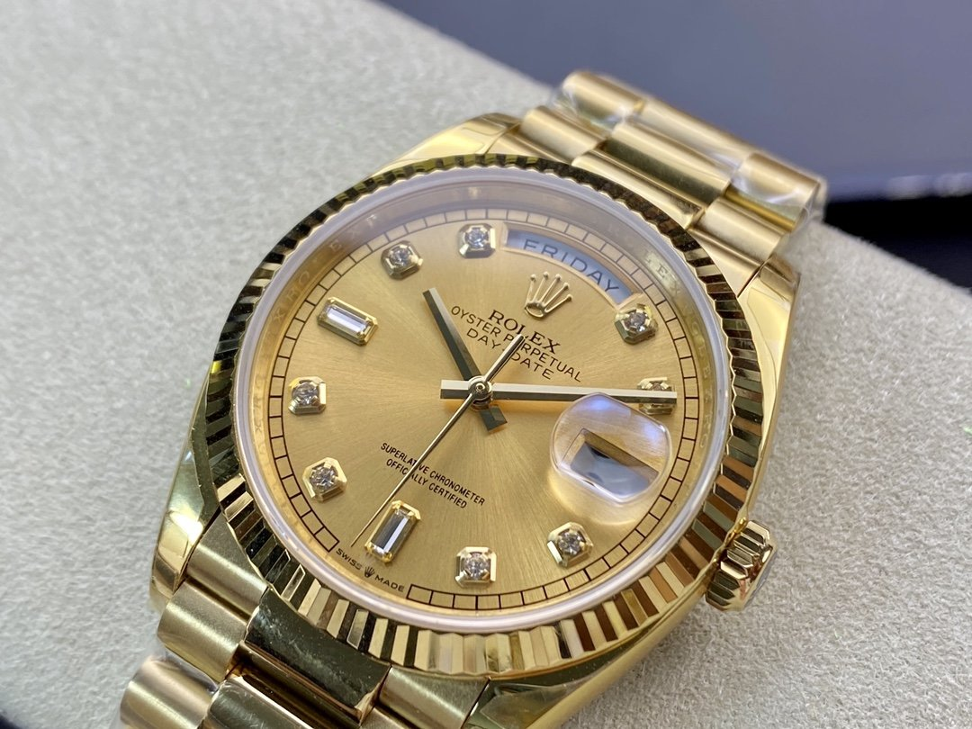 EW厂劳力士Rolex星期日志型36毫米高仿手錶