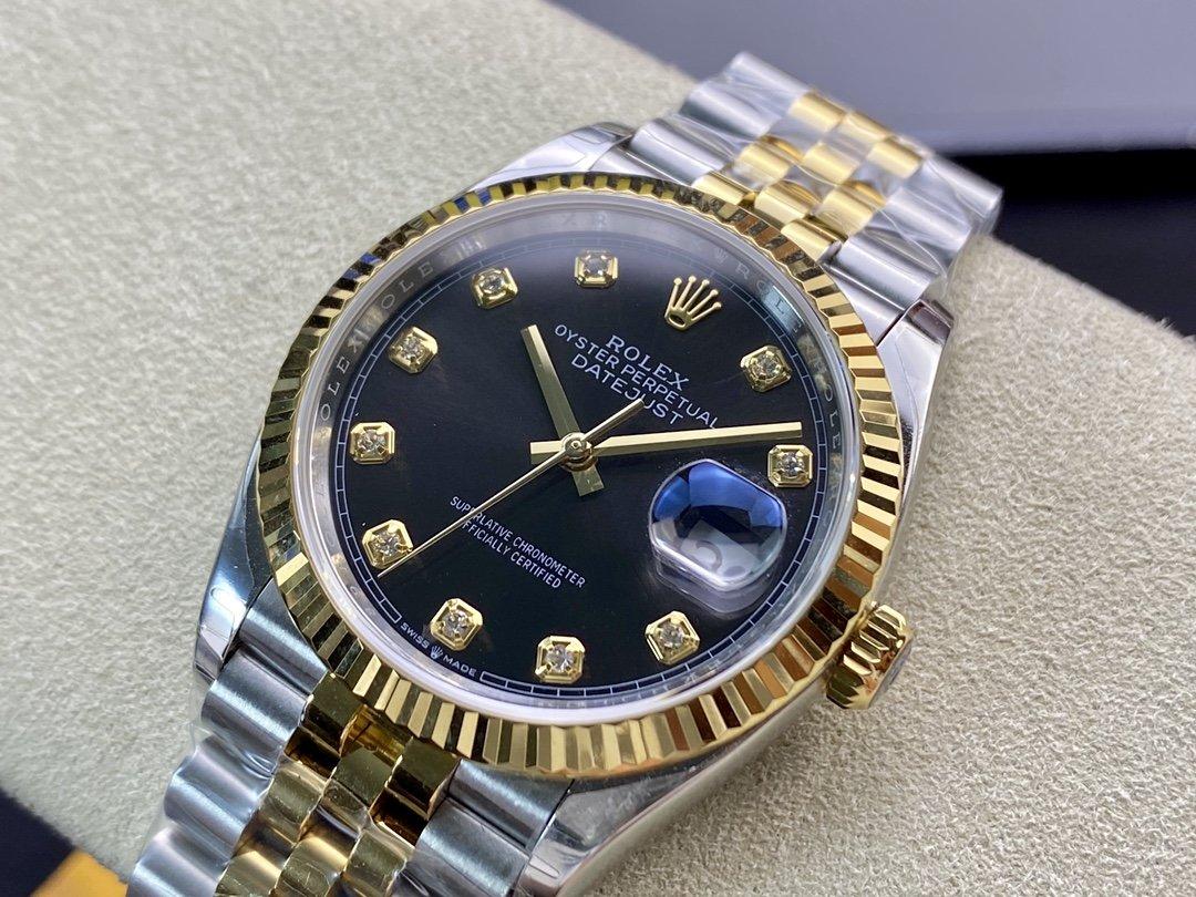 EW Factory 勞力士Rolex原版開模3235自動機械機芯日誌型係列126233日誌型腕錶,直徑36MM