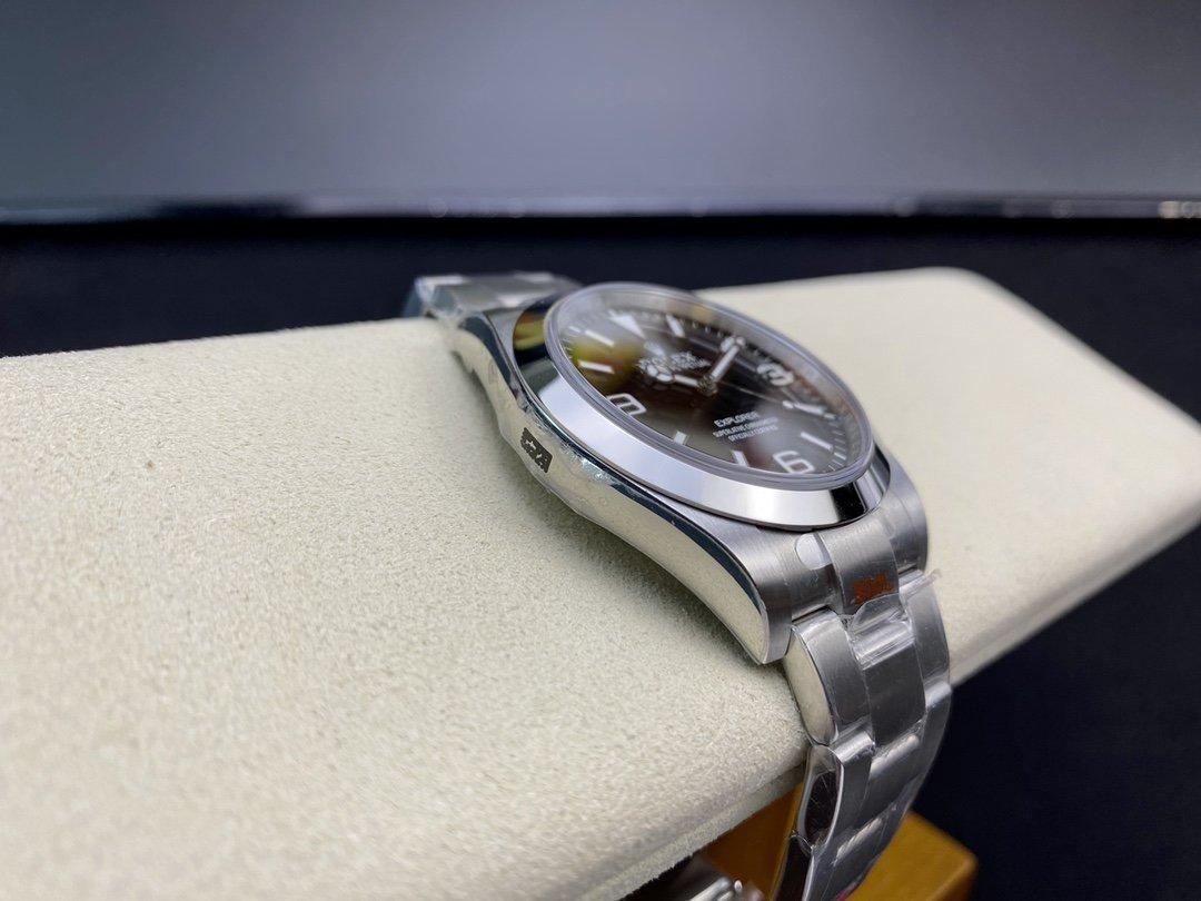 GM廠勞力士探一蚝式恒動39mm系列3132機芯高仿手錶