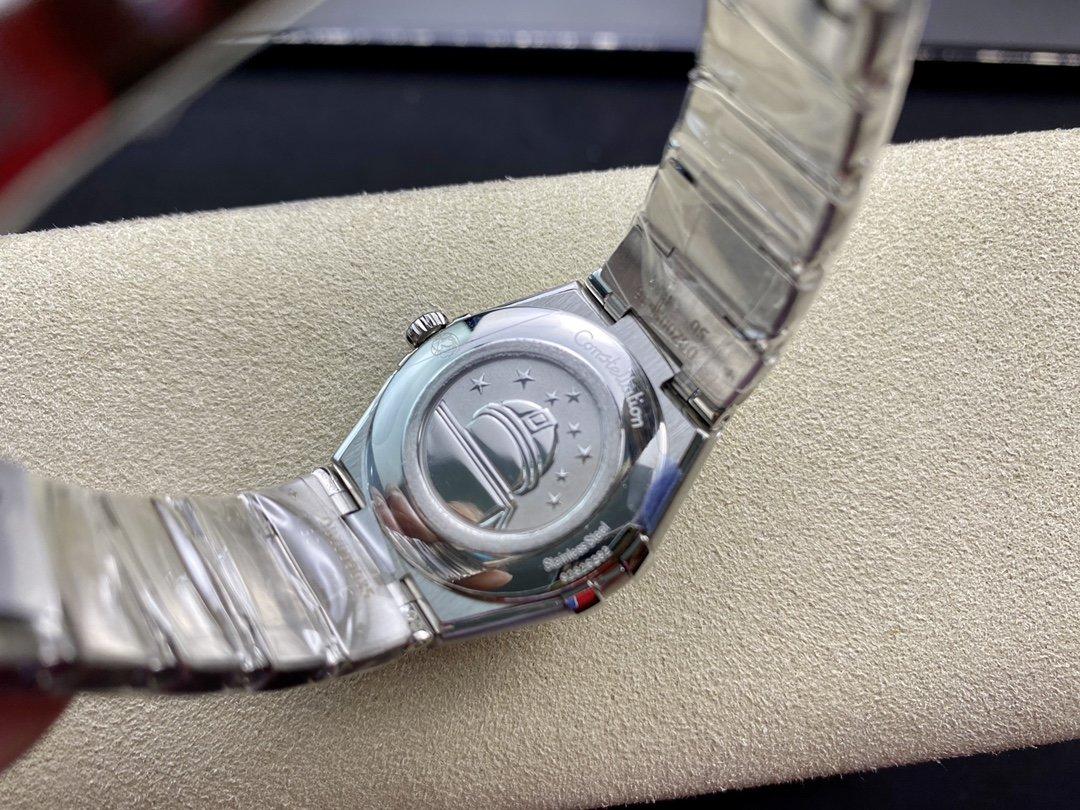 AF廠高仿歐米茄第五代星座系列28mm石英腕表複刻手錶