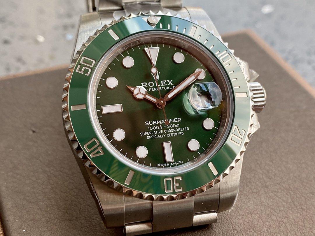 ZZ廠v2s版本高仿勞力士綠水鬼40MM3135機芯複刻手錶