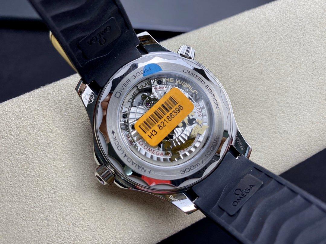 VS 欧米茄 海马300米潜水表女王密使50周年款,詹姆斯·邦德限量版