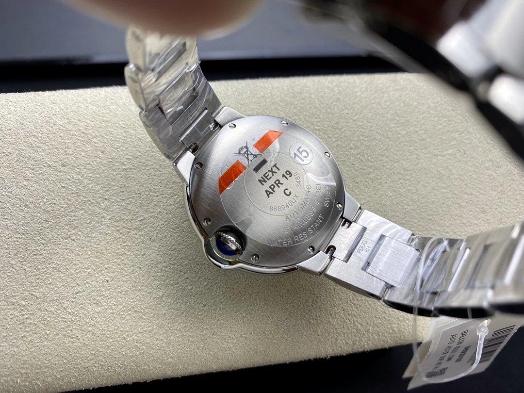 V6 Factory 一表一碼一卡完美複刻 V7版粉色藍氣球33MM機械女士粉氣球複刻手錶