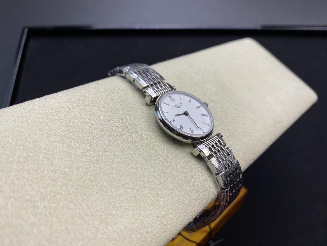 TW臺灣廠出品原版開模複刻1比1 浪琴Longines超薄嘉嵐系列24MM瑞士石英機芯女士高仿手錶