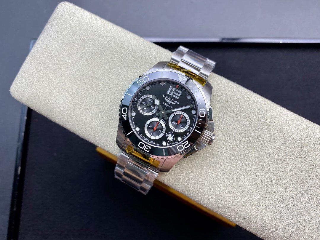 8F廠浪琴康卡斯7750機械計時系列原裝開模41MM複刻手錶