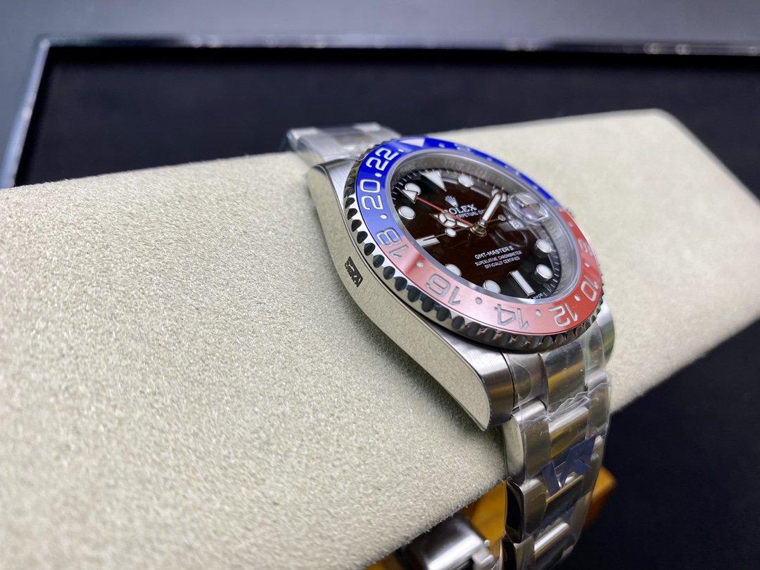 VR Factory勞力士格林尼治GMT百事/可樂40MM3186/3285機芯904鋼高仿手錶