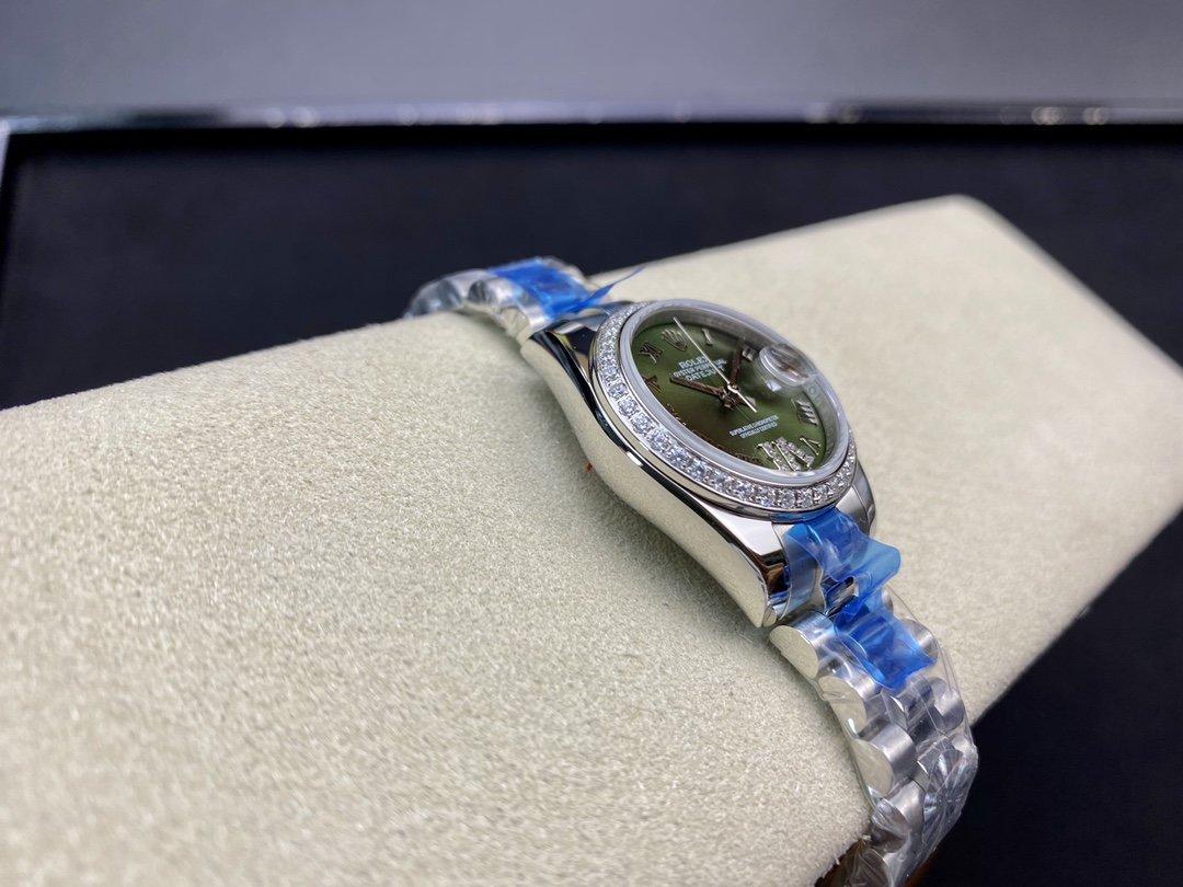 WF廠高仿勞力士女裝日誌型28㎜日誌型279174-0009 女表複刻手錶