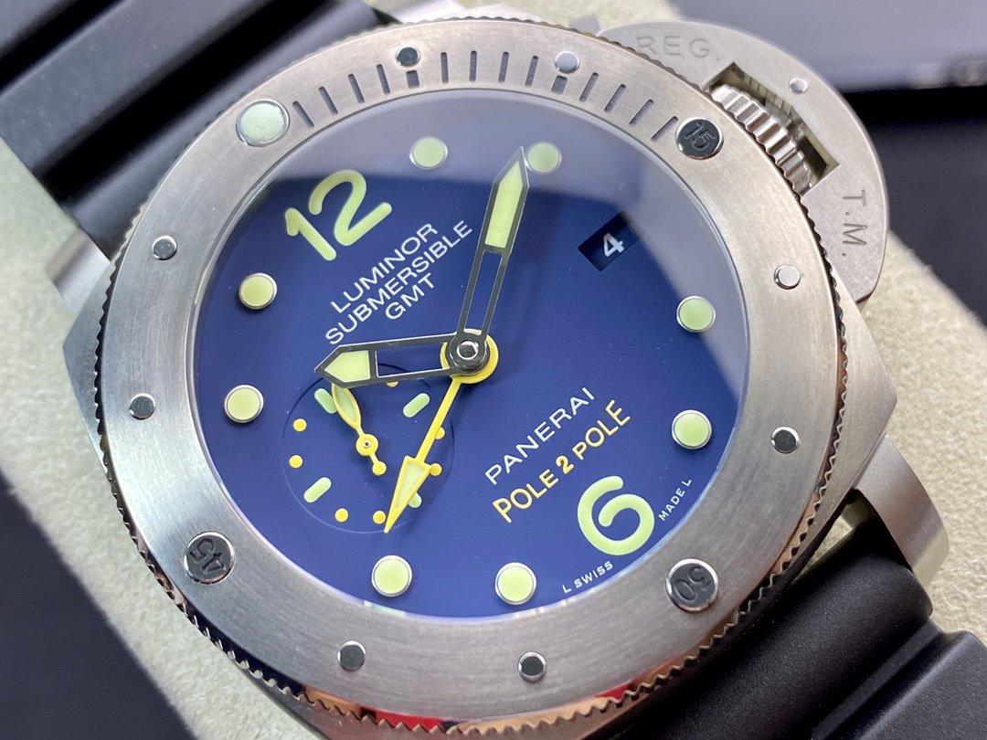 Vs廠高仿沛納海 PAM719型號複刻P.9001自動機械機芯47MM複刻手錶