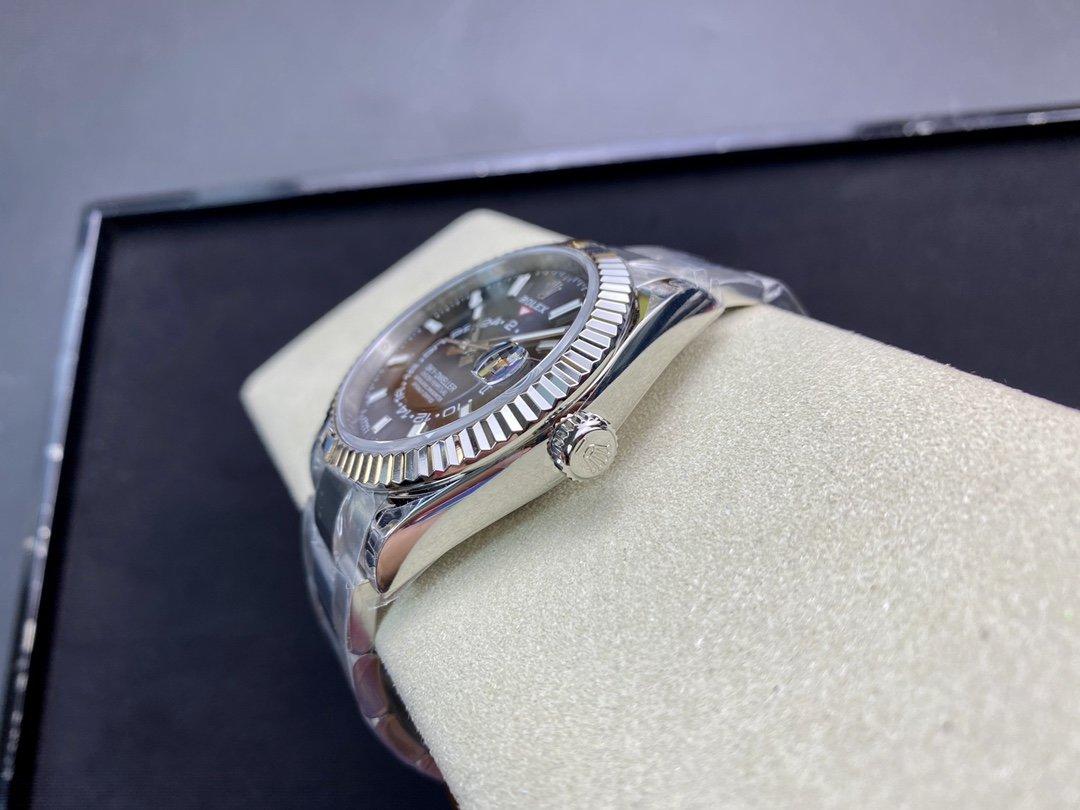 NOOB最新匠心之作N廠高仿勞力士 Sky-Dweller 天行者9001機芯42MM複刻手錶