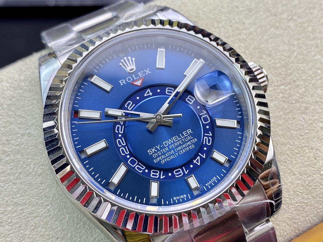 NOOB廠N廠 高仿勞力天行者Sky-Dweller 天行者42MM複刻錶