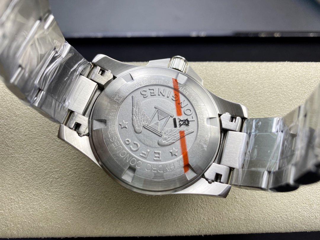 ZF廠浪琴康卡斯水中霸主2824機械機芯41MM複刻手錶