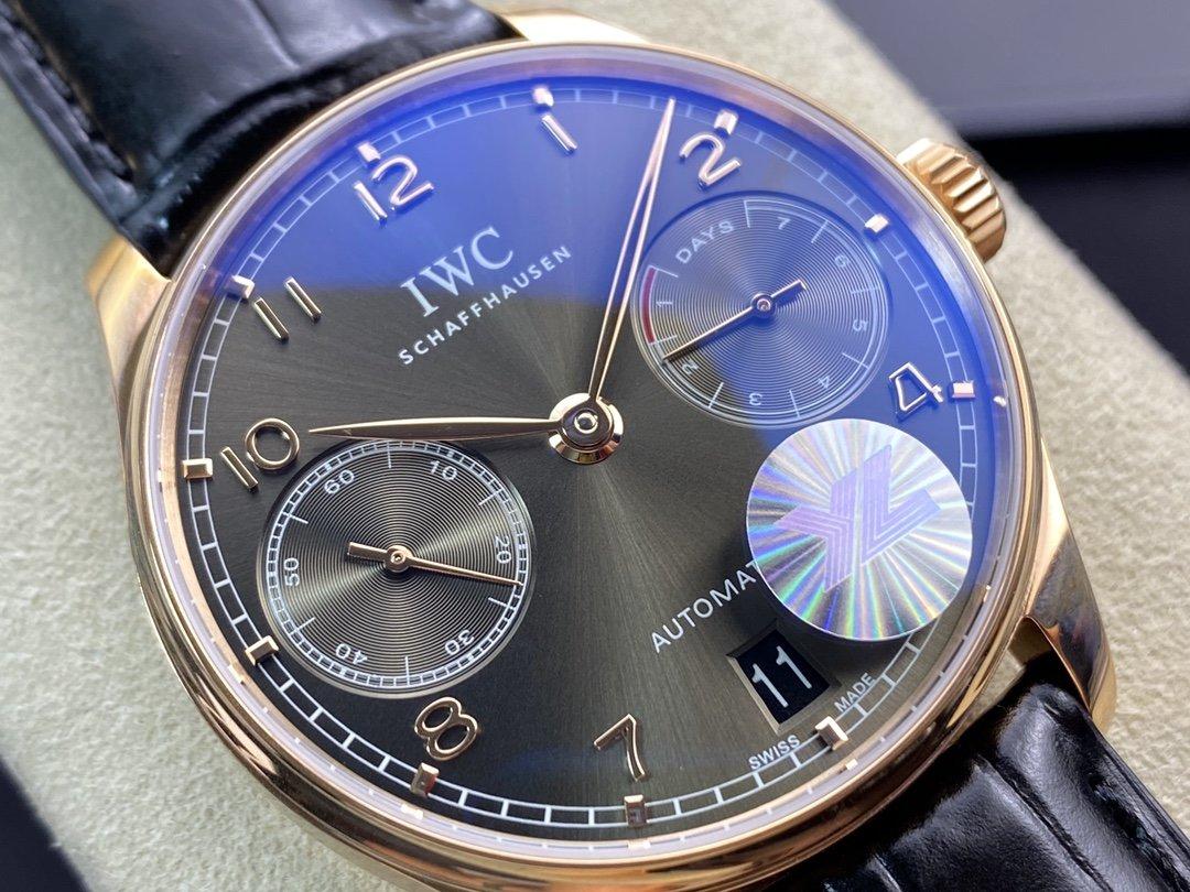 YL廠高仿萬國葡七V5最高版本萬國 葡萄牙7 DAYS 七日鏈克隆52010機芯42MM複刻手錶
