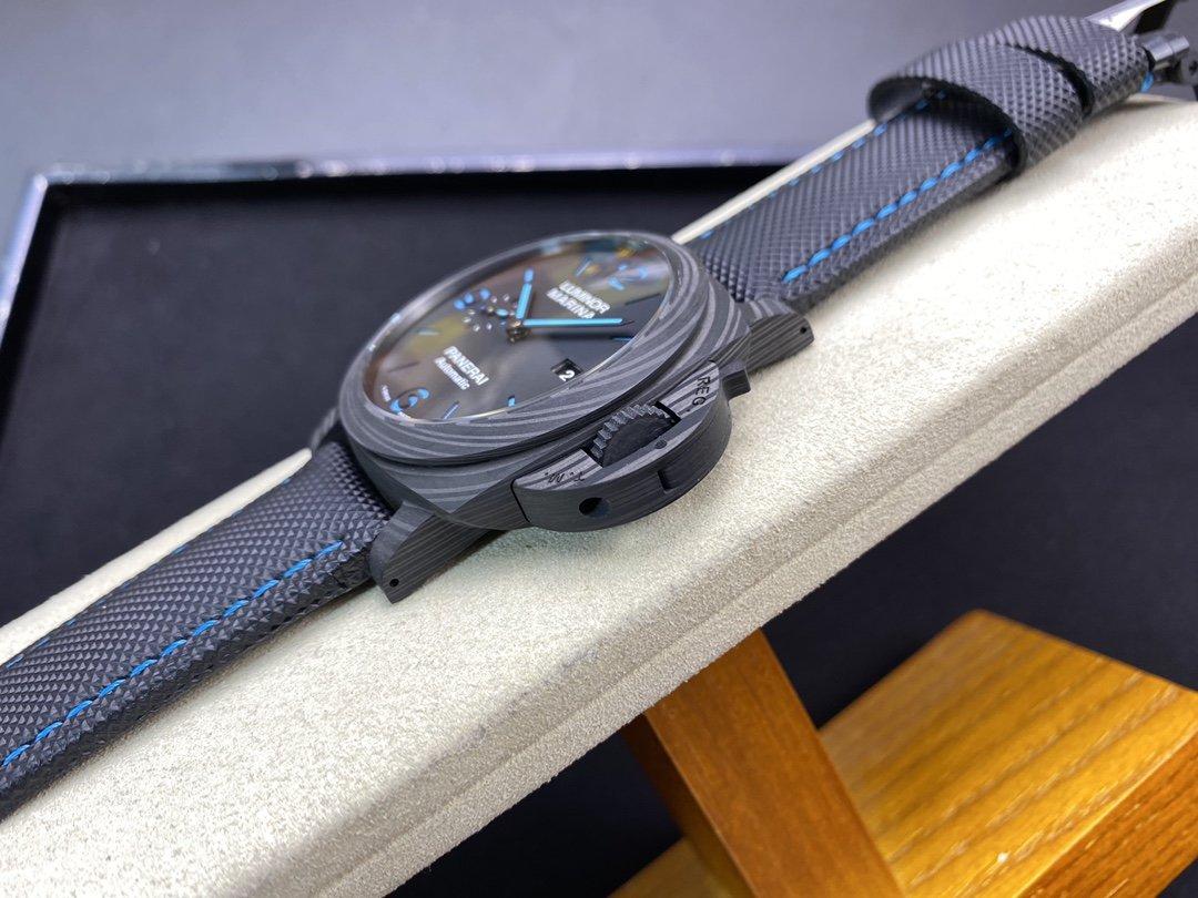 VS廠高仿沛納海 Pam1661 廬米諾系列PAM1661碳纖維殼44MM複刻手錶