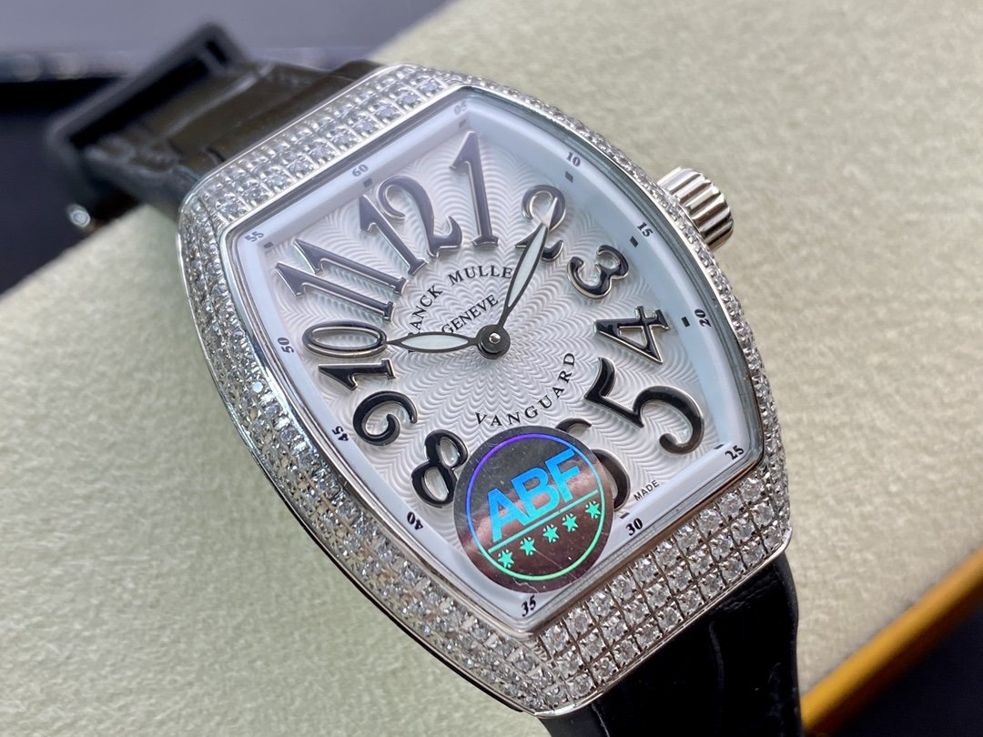 ABF廠法蘭克/法穆蘭V32系列女表深海珍珠貝满钻瑞士石英機芯複刻手錶