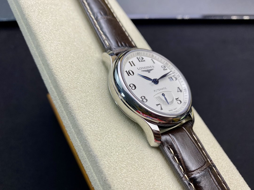 GS廠浪琴大嘴動能名匠系列L2.666.4.78.6機械38.5MM複刻手錶