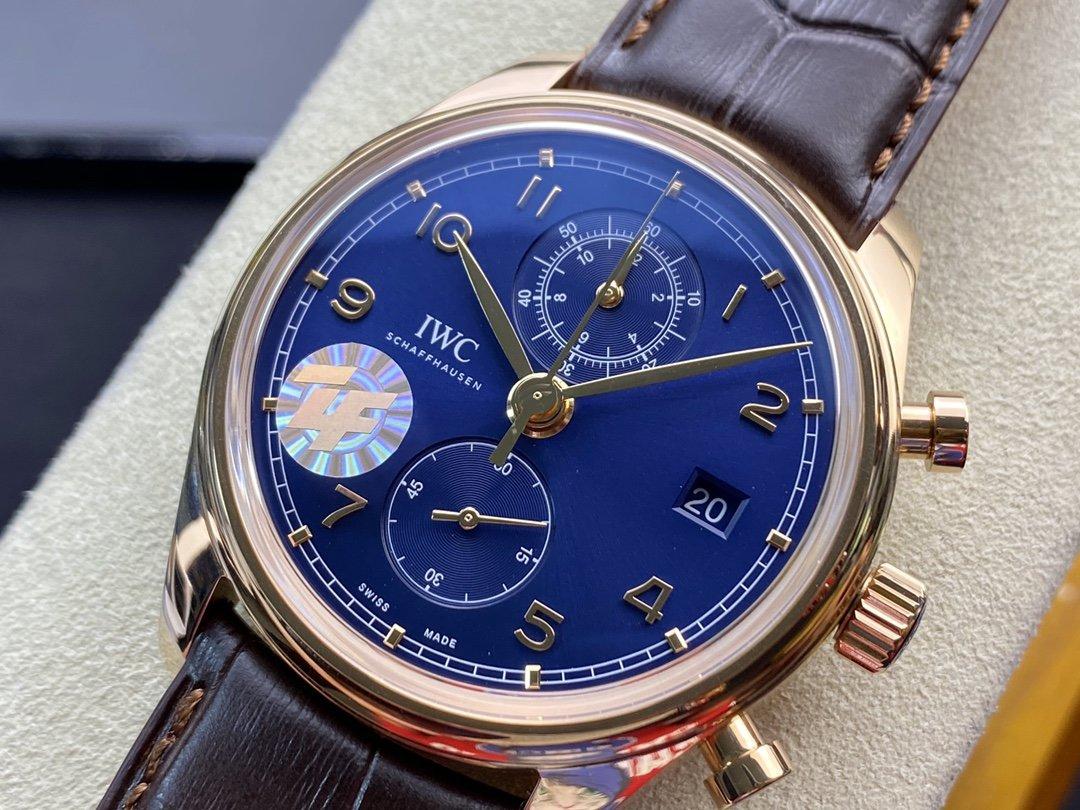 ZF廠萬國IWC新葡萄牙系列葡計42MM複刻萬國自產Cal.89361機芯複刻手錶