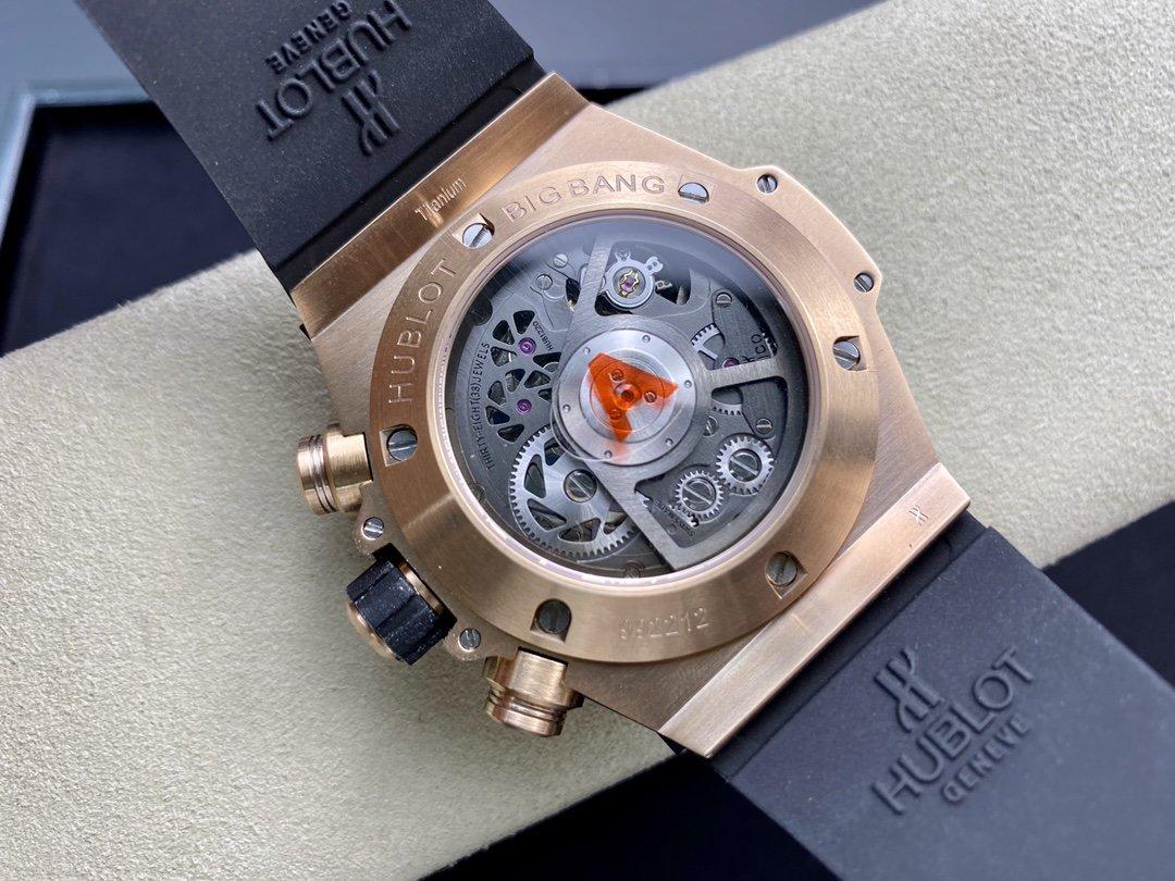 TA Factory恒寶/宇舶HUBLOT 的BIG BANG系列UNICO大爆炸 45mm獨特HUB 1242 Unico計時機芯複刻手錶