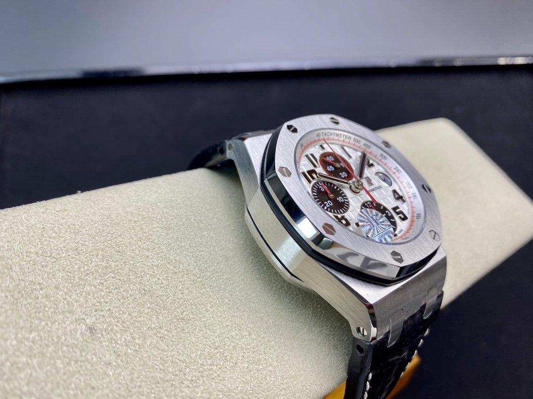 JF廠愛彼ap26470 陶瓷按鈕42MM搭載復刻原版3126全自動計時機芯複刻手錶