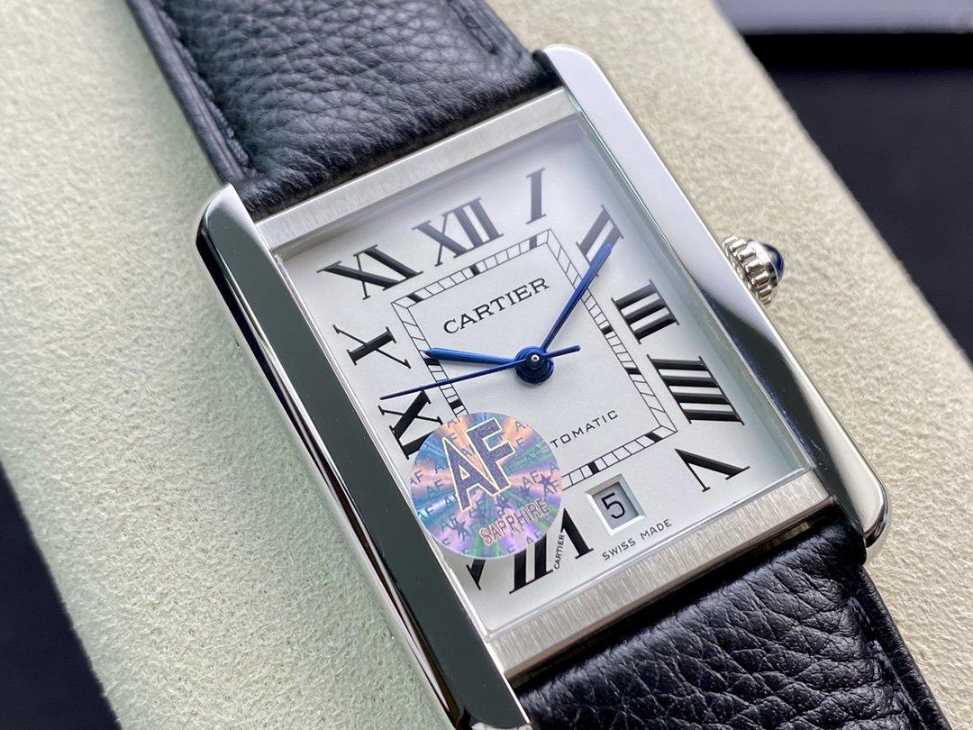 AF 廠高仿卡地亞坦克系列W5200027腕表31MM男表2892機芯複刻手錶