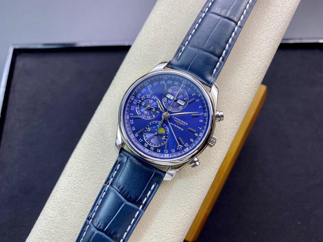 YL廠複刻浪琴名匠八針L2.773.4.78.6系列月相42MM搭載7751機芯高仿手錶