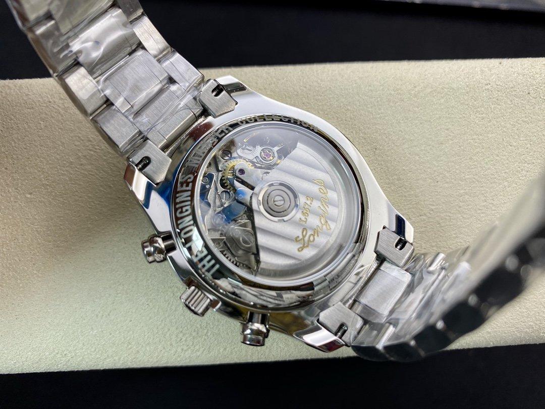 YL廠高仿浪琴名匠八針L2.773.4.78.6系列月相42MM搭載7751機芯複刻手錶