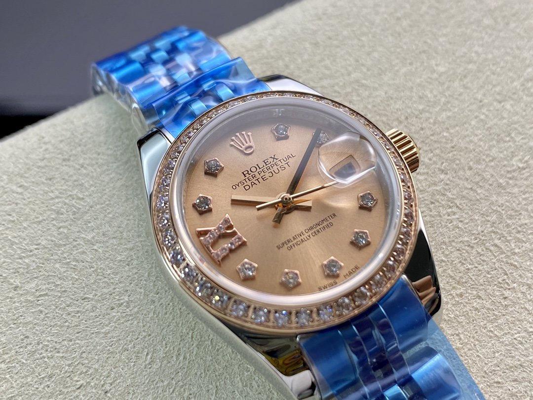 WF廠勞力士女裝日誌型28㎜日誌型279174-0009 複刻手錶