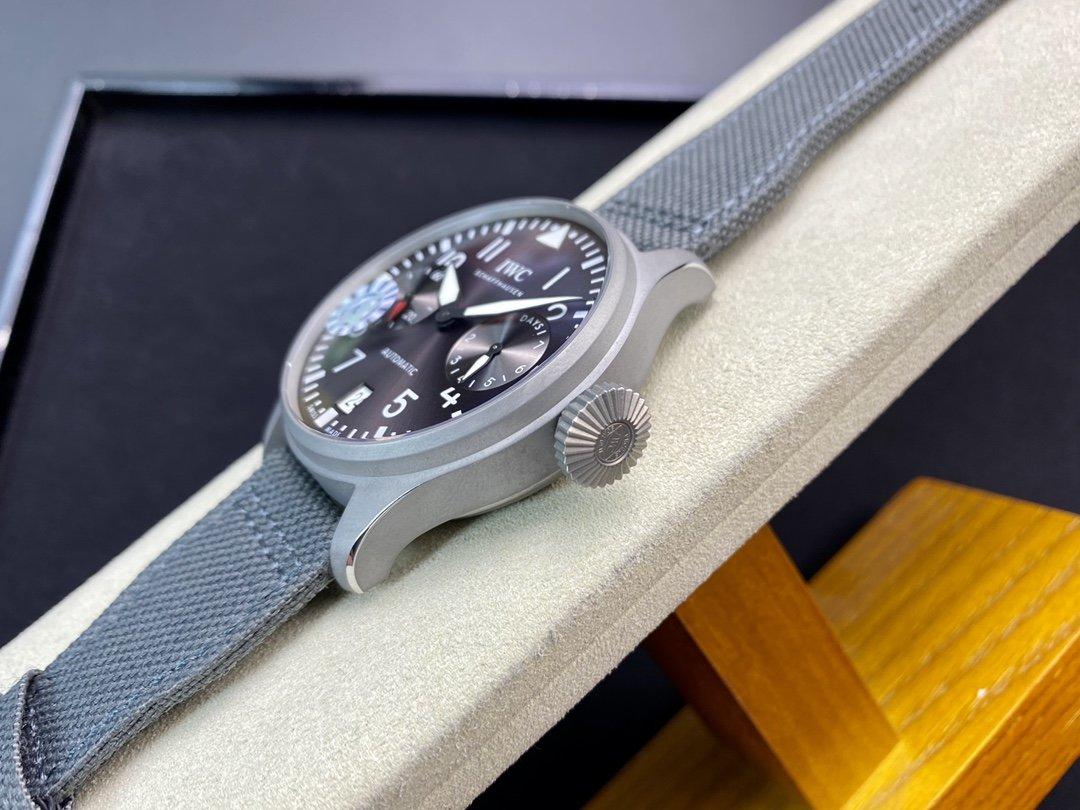 ZF廠萬國IWC小針特別款大飛行員空中霸主46MM複刻原裝Cal.51111機芯高仿手錶