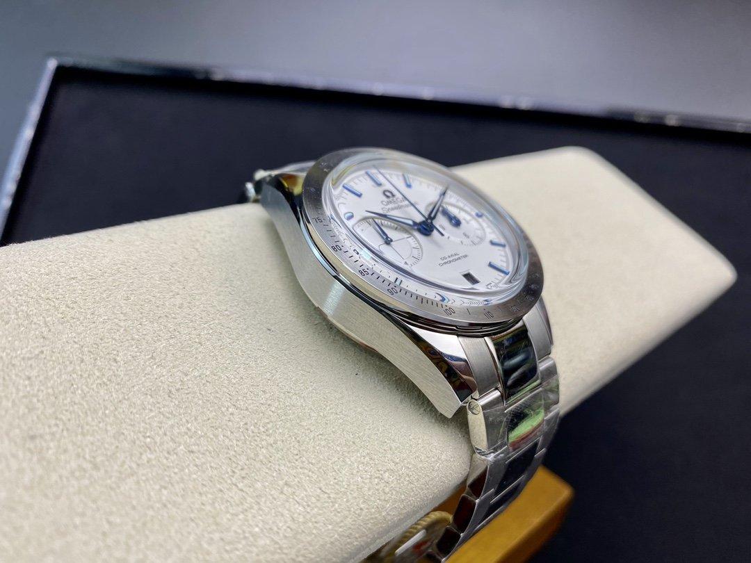 OM厂欧米茄omega传奇超霸系列(57同轴计时表)3900机芯複刻錶