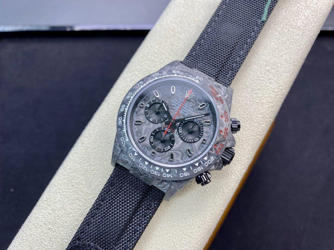 JH廠 勞力士碳纖維迪通拿系列計時腕表