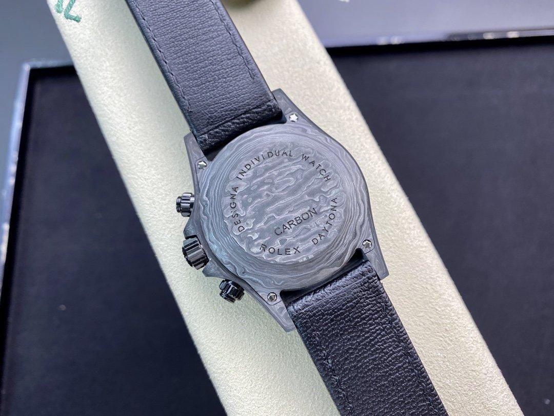 JH廠 高仿勞力士碳纖維迪通拿系列計時腕表複刻錶