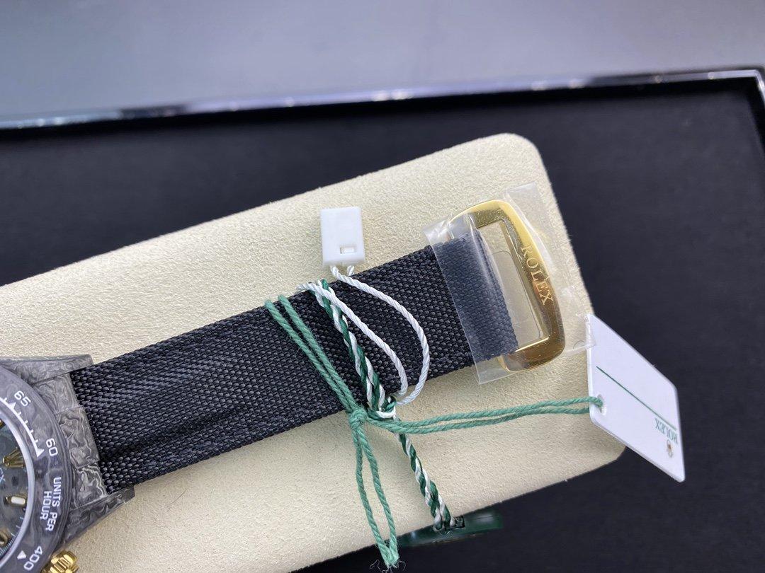 JH廠 高仿勞力士碳纖維迪通拿系列計時腕表複刻手錶