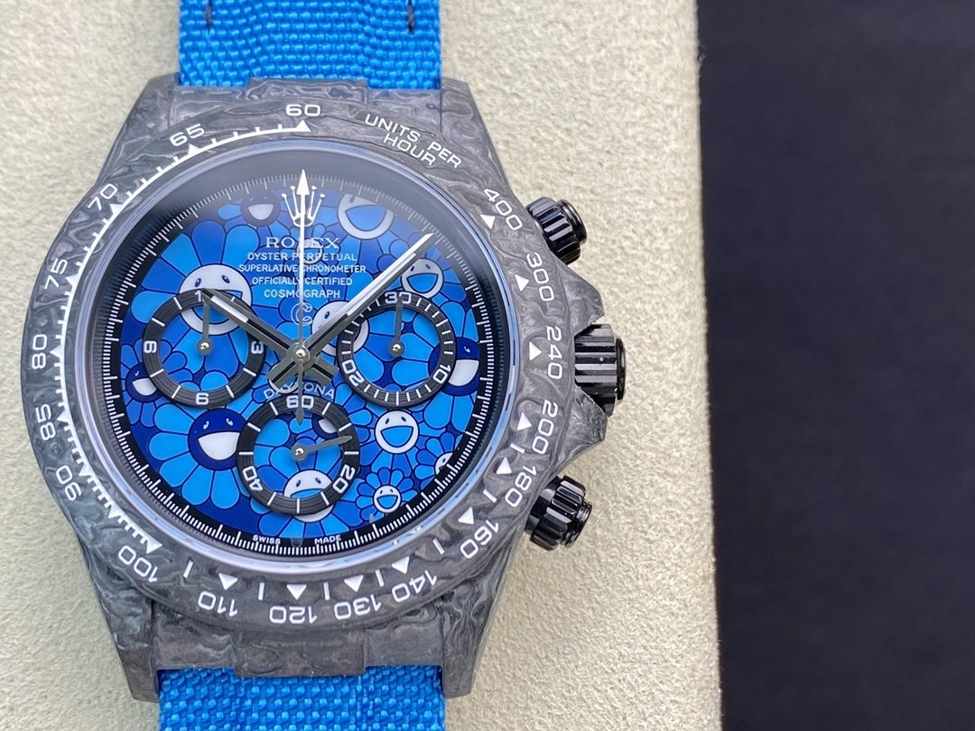 JH廠 勞力士碳纖維迪通拿系列計時腕表 高仿表 複刻手錶