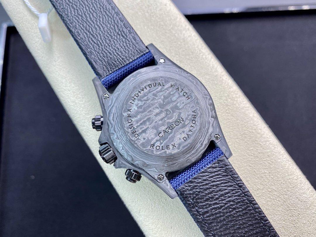 JH廠 勞力士碳纖維迪通拿系列計時腕表 N廠手錶 仿表 高仿表 複刻手錶 一比一複刻錶