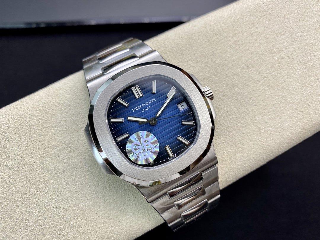 GR廠百達翡麗鸚鵡螺5711/1A改裝Cal.324機芯高仿手錶