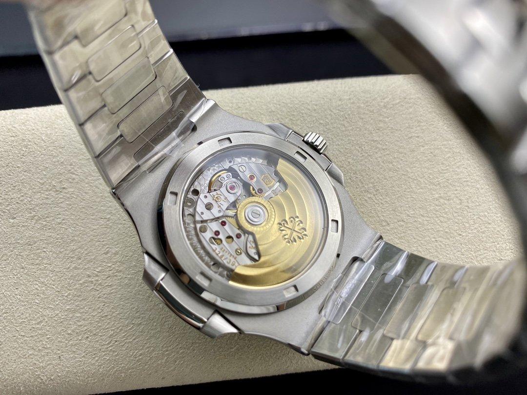 GR廠高仿百達翡麗藍盤鸚鵡螺 5711/1A裝配Cal.324機芯40MM複刻手錶