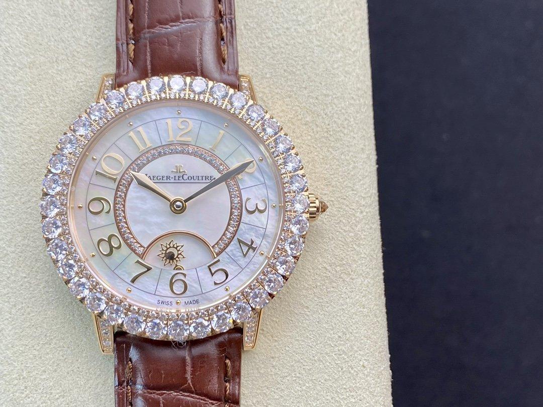 ZF廠積家約會系列新品Q3523570腕表36MM定制版925B/1型一體機芯複刻手錶 N廠 高仿勞力士 N廠手錶 高仿手錶 仿錶 複刻錶 一比一複刻手錶