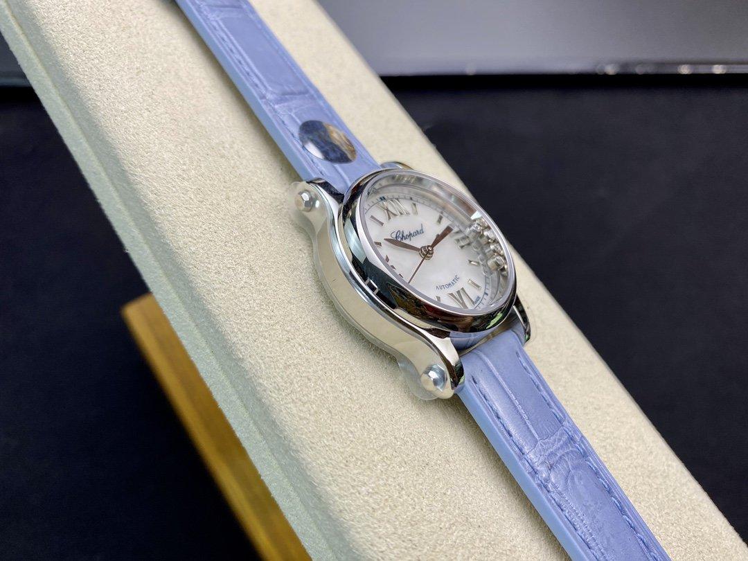 YF廠蕭邦快樂鑽系列 30mm 2892機械HAPPY SPORT MEDIUM AUTOMATIC系列高仿手錶