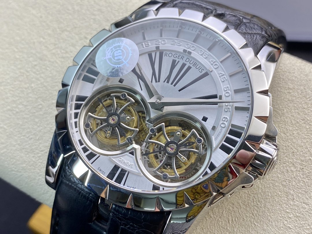 JB廠羅傑杜彼RDDBEX0250.RDDBEX0249王者系列真雙陀飛輪45MM高仿手錶