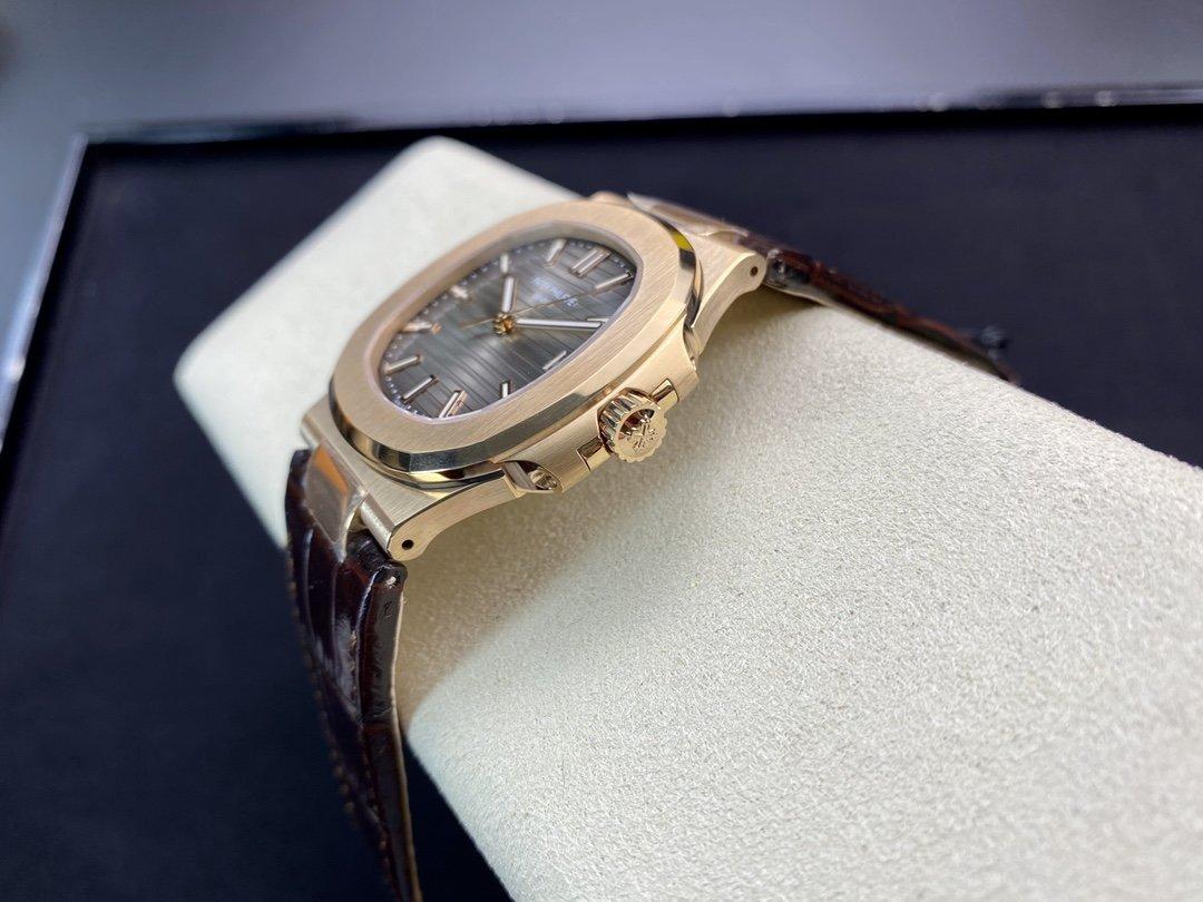 PPF廠 V4版百達翡麗超級鸚鵡螺一體芯Cal.324機芯40MM高仿手錶