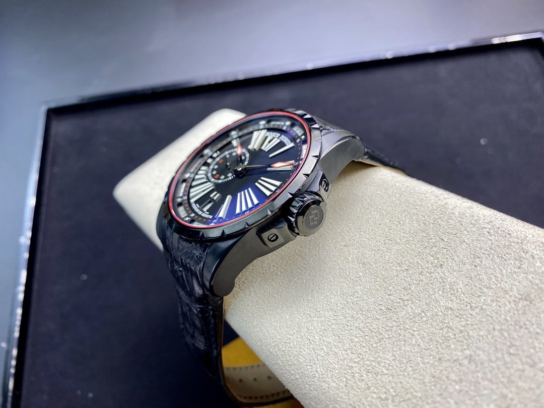 TBF廠 羅傑杜彼王者系列DBEX0542(0543)腕表45MM偏心珍珠機芯複刻手錶