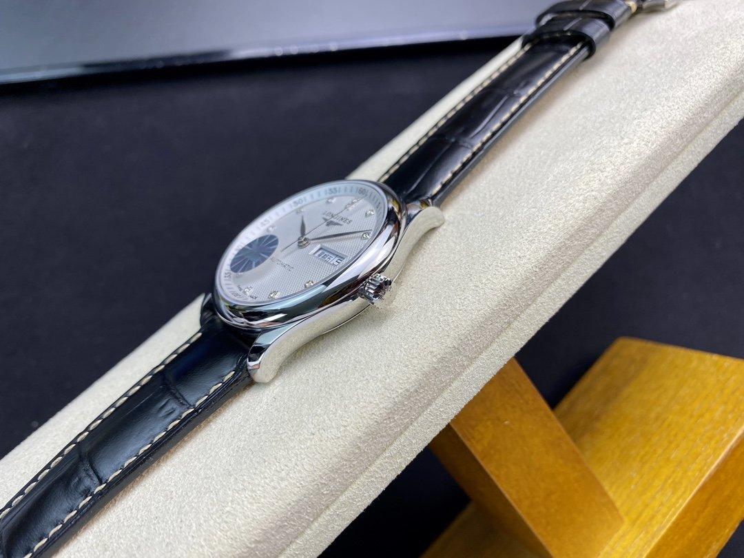 YL厂浪琴名匠3位双日历系列原版开模搭载和正品一致的原装瑞士eta2836-2自动机械机芯