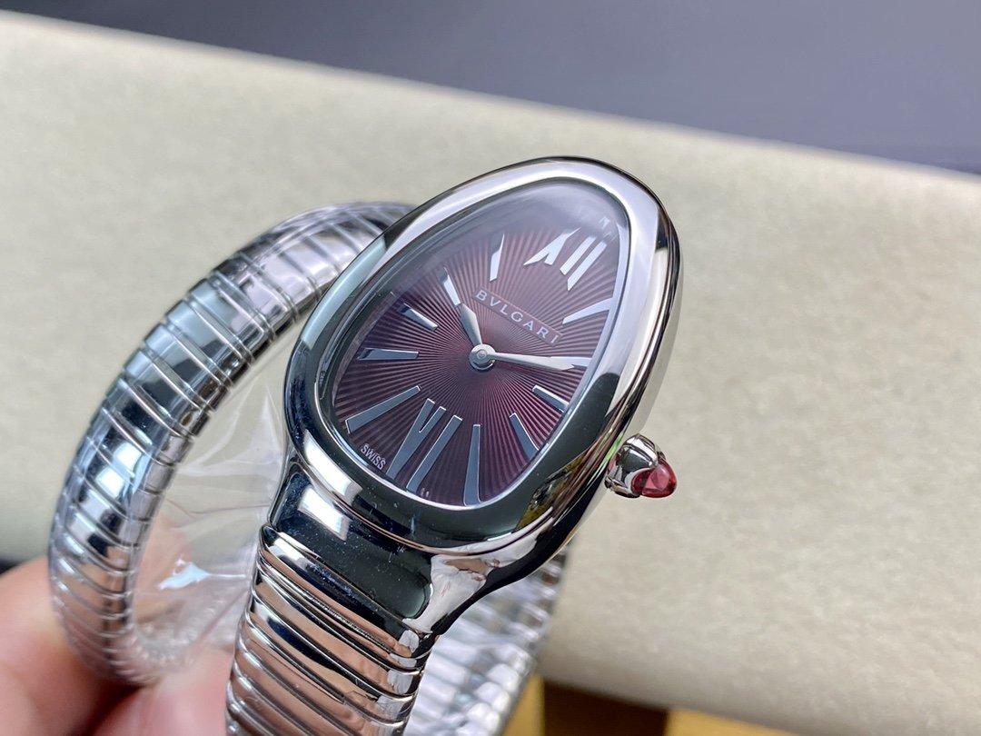 BV廠市面最高版本完美複刻 寶格麗 蛇形經典女士高仿手錶