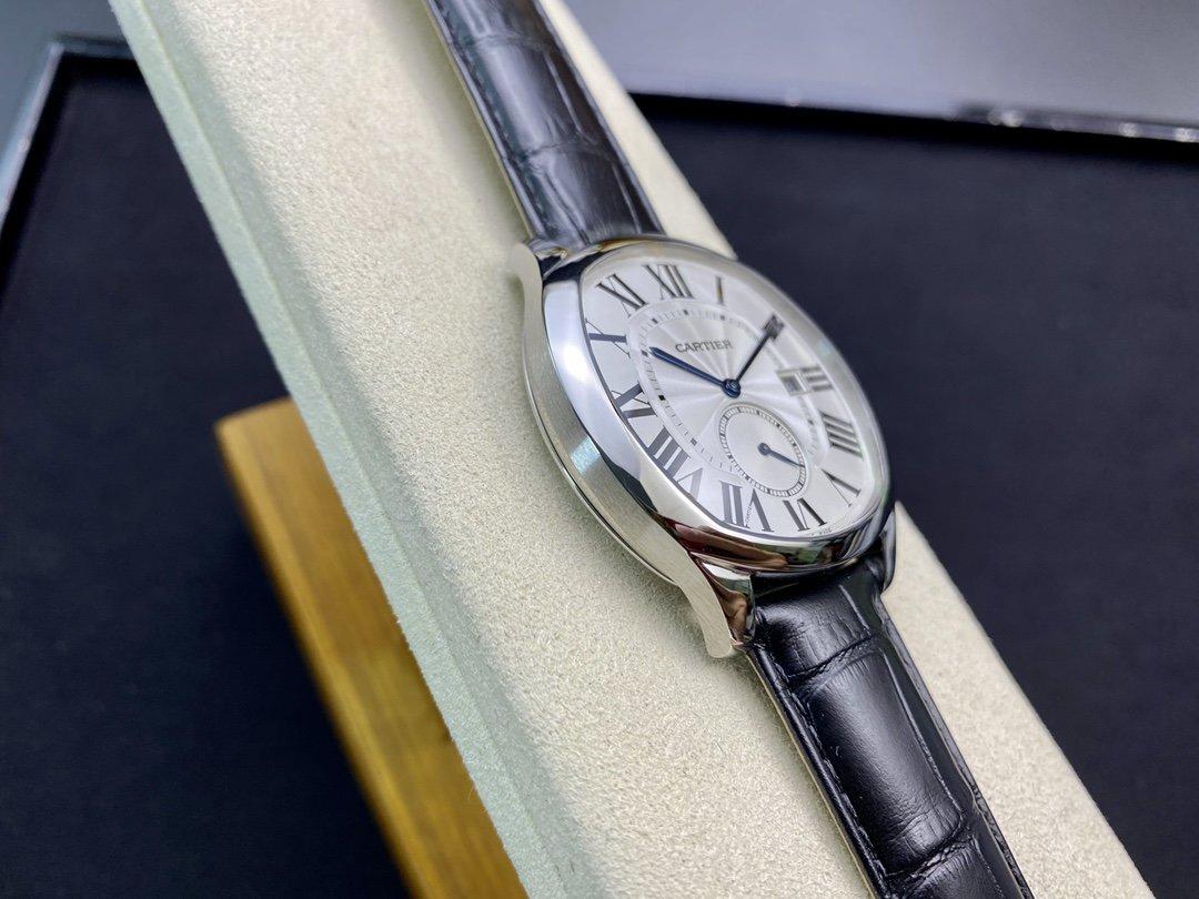 GS廠卡地亞Drive de Cartier系列40MM配CAL.1904機芯複刻腕表