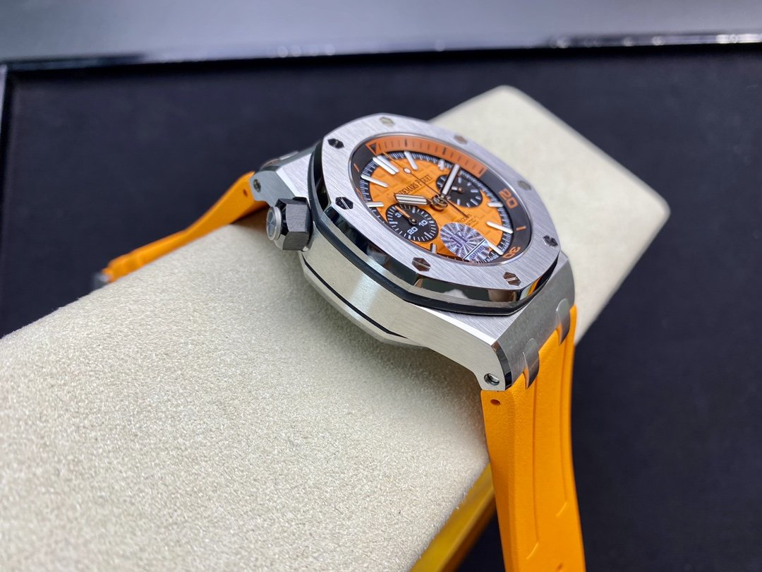 JF廠愛彼AP26703 計時水果系列搭載3126複刻機芯 316精鋼 42MM高仿手錶