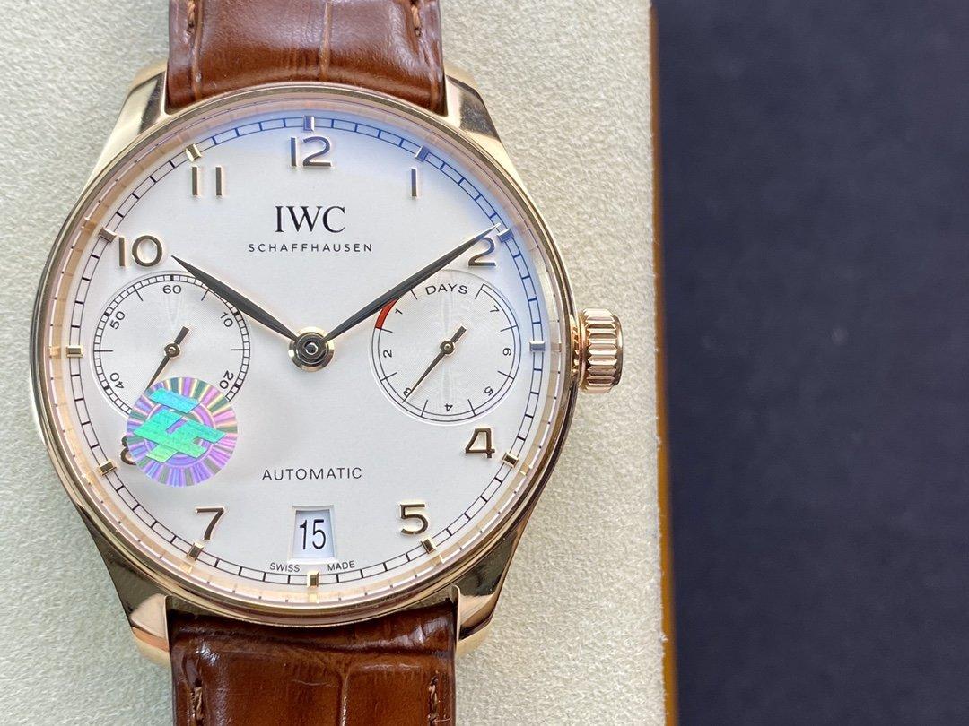 ZF廠萬國IWC 葡萄牙系列 V5版 葡7-七日鏈 葡七複刻手錶