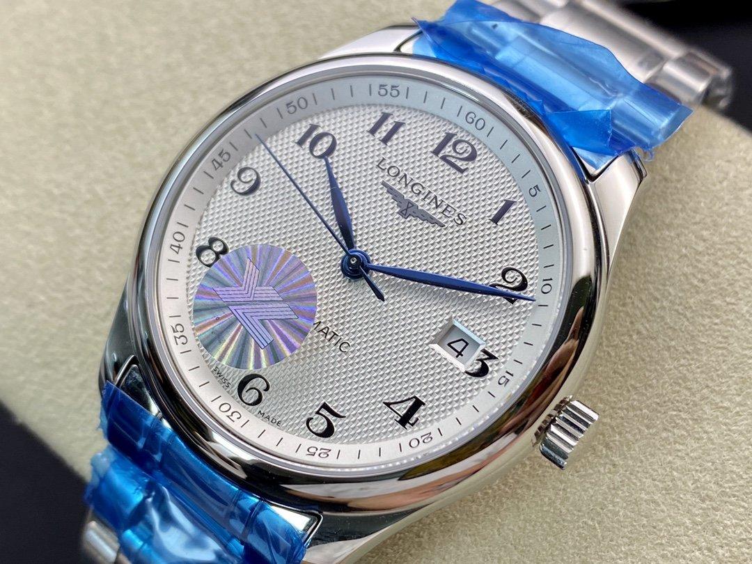 YL厂浪琴名匠3位日历系列原版开模搭载2824自动机械机芯N廠 勞力士 N廠手錶 高仿手錶 仿表 複刻表 一比一複刻手錶