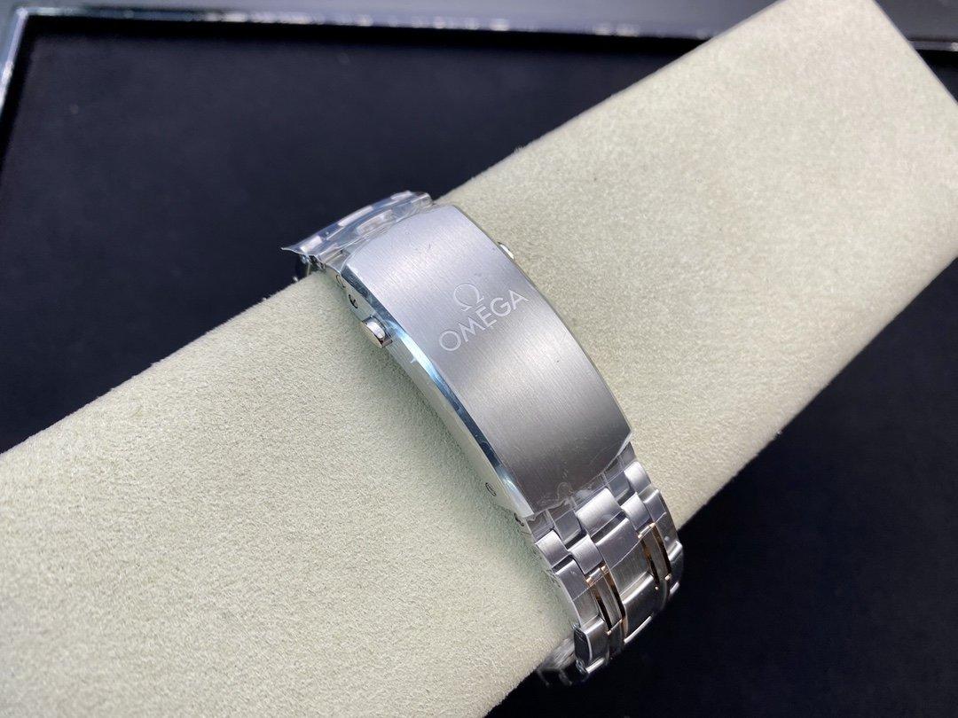 VS厂高仿欧米茄海马300M间玫金蓝面42MM8800機芯複刻手錶