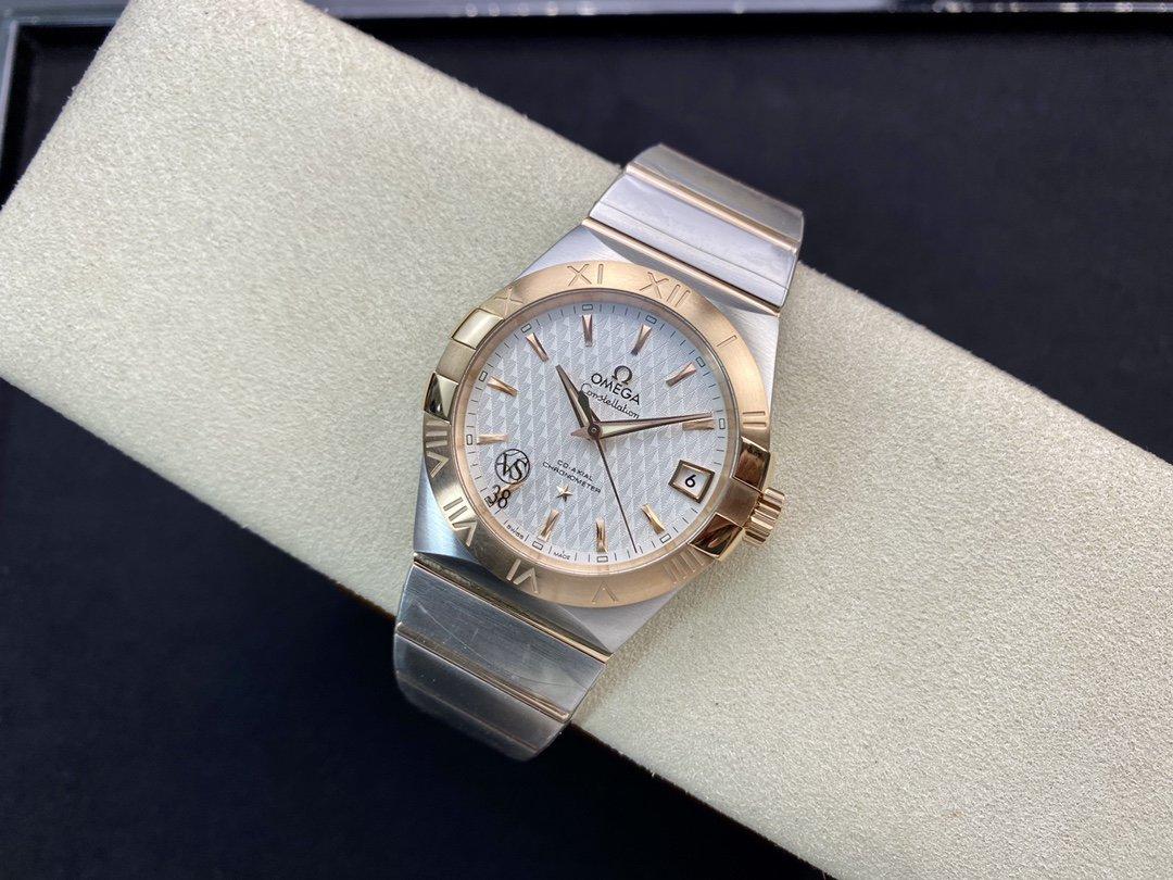 VS廠高仿歐米茄星座才是歐米茄的精髓38mm 8500一體機芯複刻手錶
