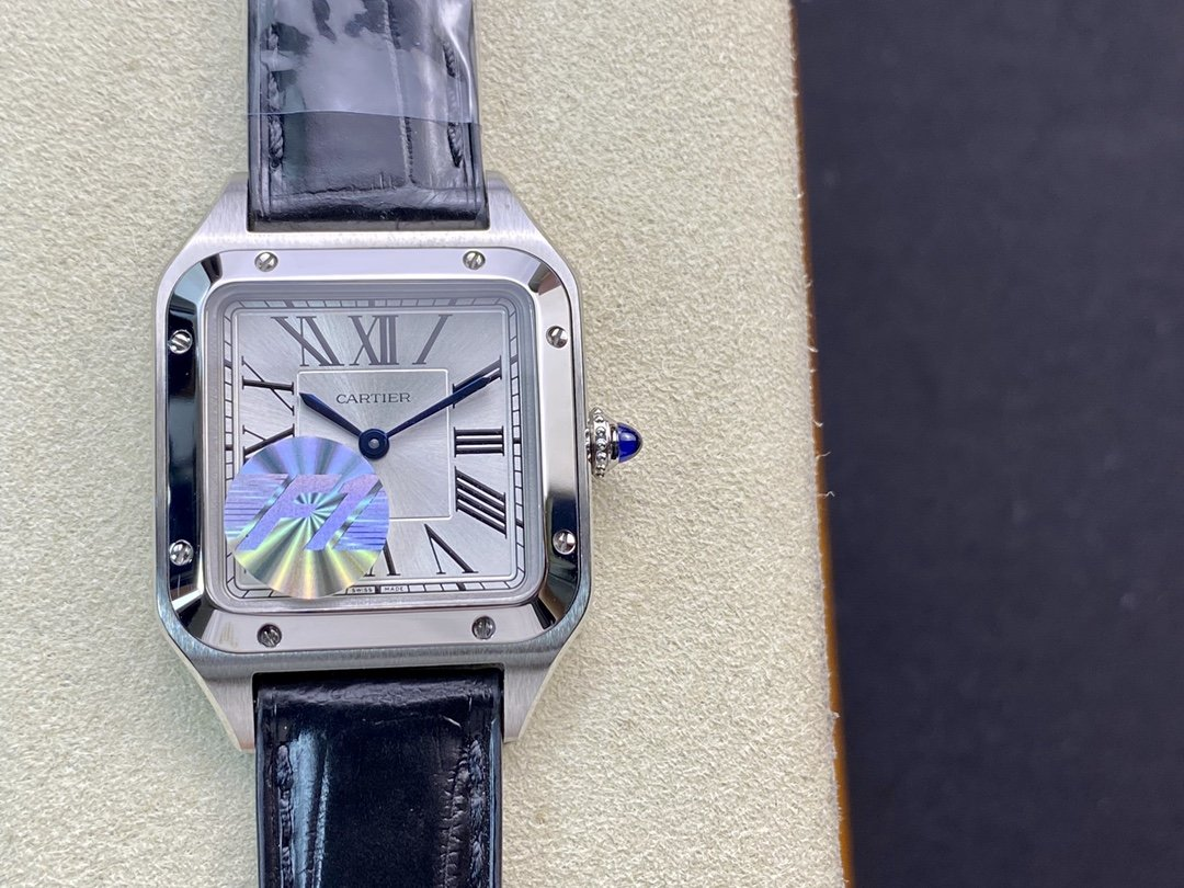 F1廠卡地亞山度士系列杜蒙27MM/43MM瑞士石英機芯複刻手錶